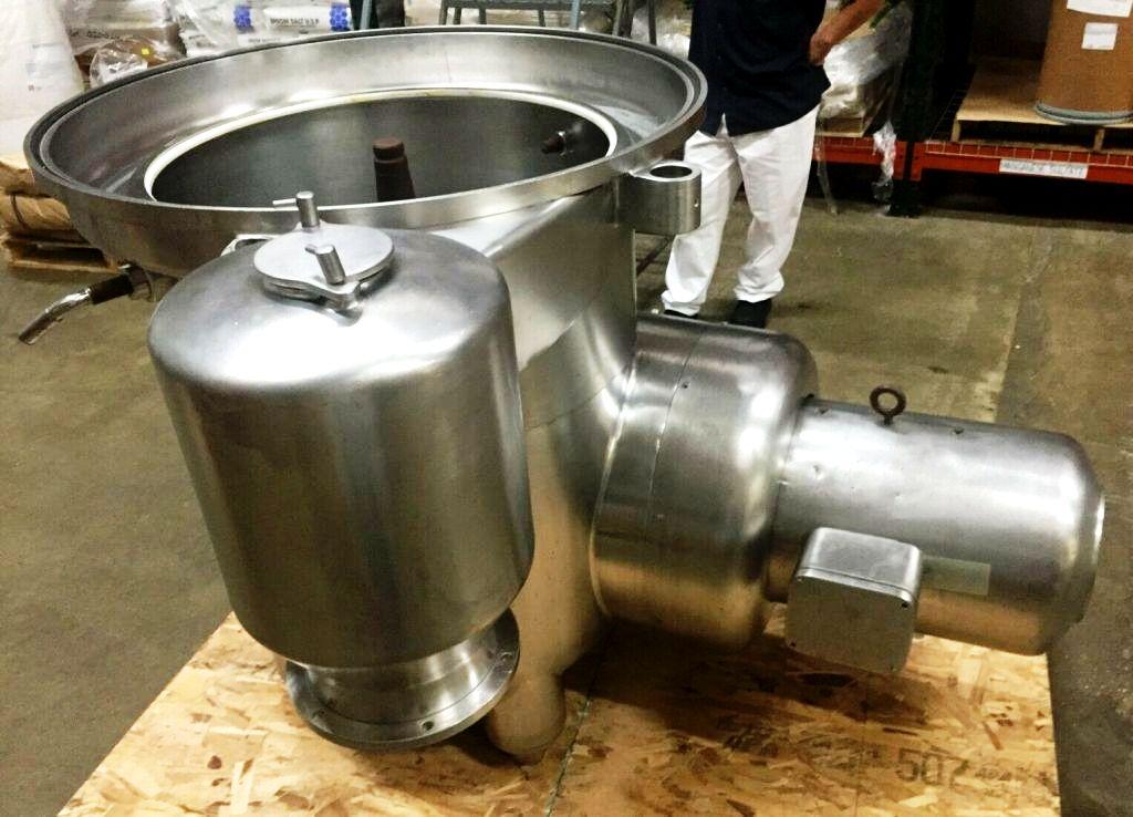 (2) Westfalia MSA 40-06-076 milk clarifiers, 316SS.