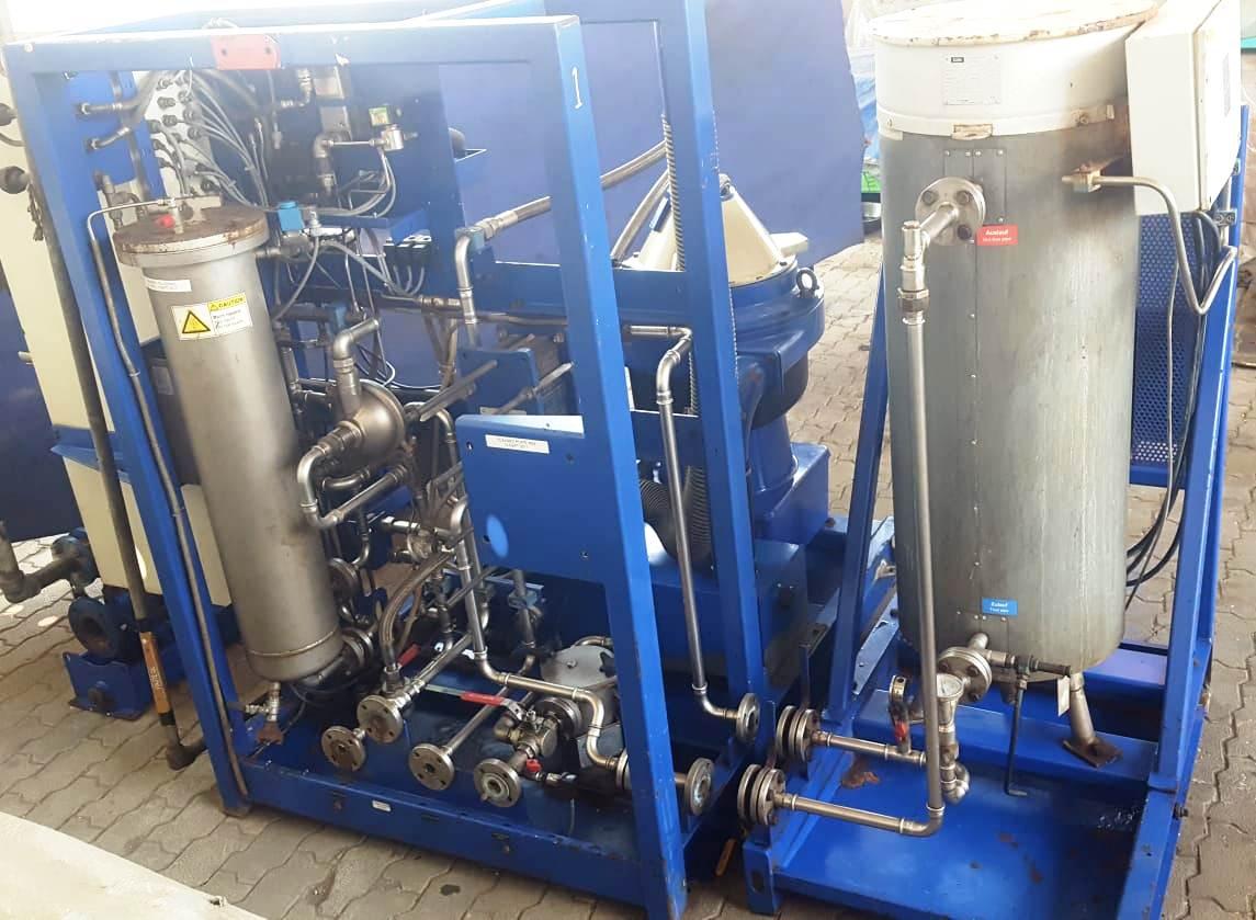 Alfa-Laval BWPX 307 TGD-71 oil concentrator module, SS.
