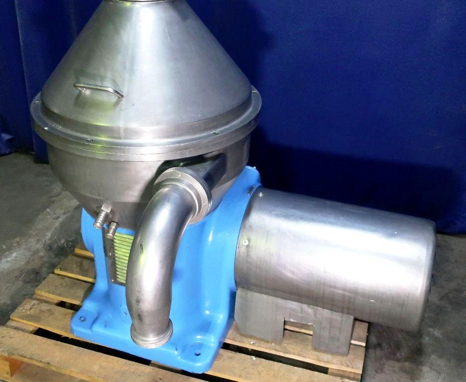 Alfa-Laval HMRPX 610 TGP-34-50 milk clarifier, 316SS.
