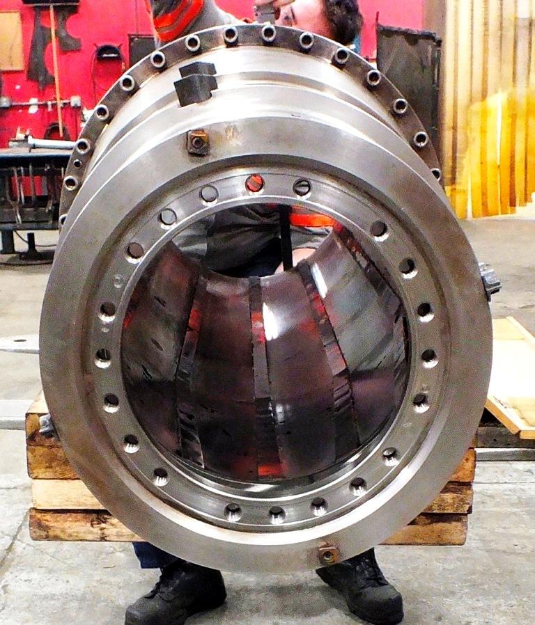 (2) Flottweg Z4E-4/441g tricanter rotating assemblies.