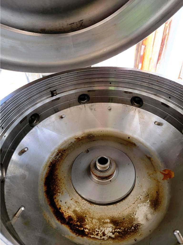Alfa-Laval TX 310S-34H nozzle centrifuge, 316SS.
