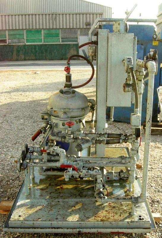 Alfa-Laval MAB 104B-24-60 oil purifier, SS.