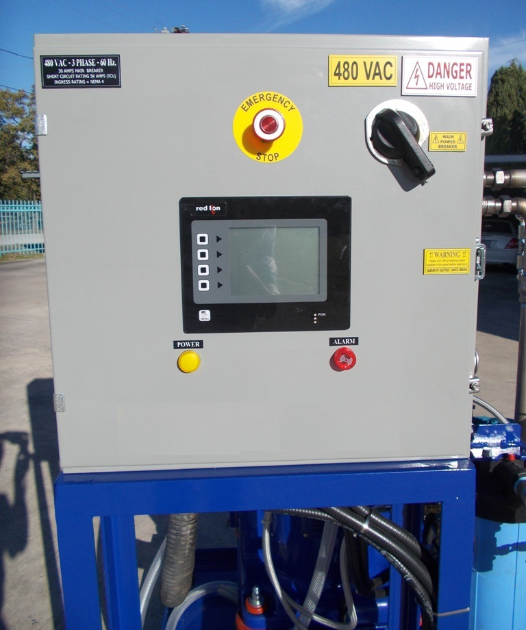 Alfa-Laval MAPX/MOPX 207 SGT-24-60 oil purifier skid, SS.