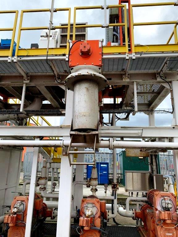 (2) Swaco CD 600 FH drilling mud centrifuges and plant.