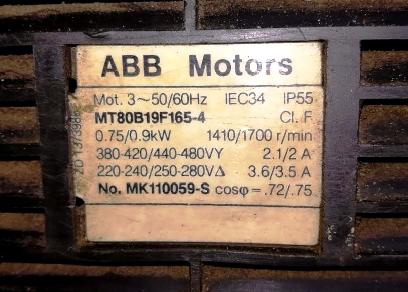 Alfa-Laval MAB 103B-24-50 oil purifier, SS bowl.