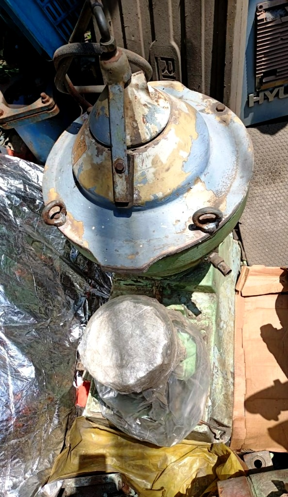 Alfa-Laval MMPX 403 SGP-11 oil purifier, 316SS.