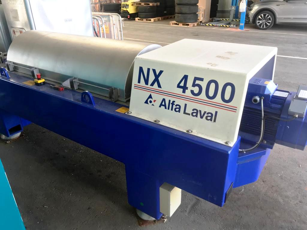 Alfa-Laval DSNX 4545 decanter centrifuge, 316SS.