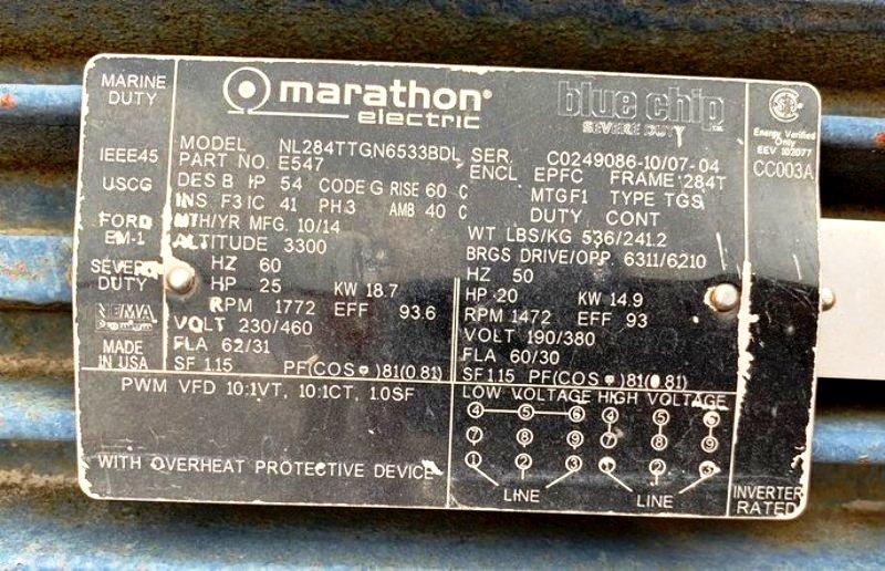 (2) Swaco 414 XP standard decanter centrifuges, 316SS.