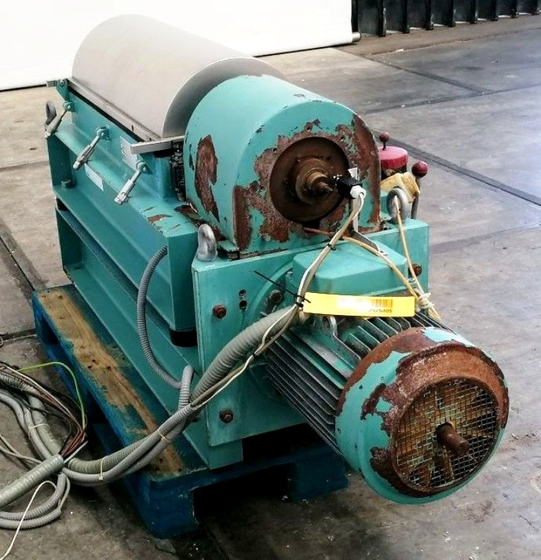 Alfa-Laval NX 309S-11G tricanter centrifuge, 316SS.
