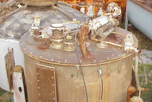 (2) Sharples T-1600 perforate basket centrifuges, 316SS.