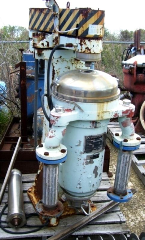 (3) Sharples/Tomoe AS-26 Super centrifuges, 316SS.