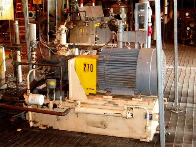 (2) Krauss-Maffei HZ 125 Si-300-960 peelers, 316L SS.