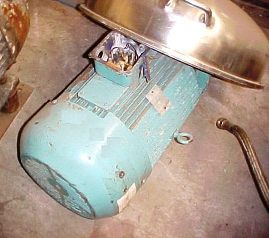 Alfa-Laval BRPX 213 34H parts machine, 316SS.