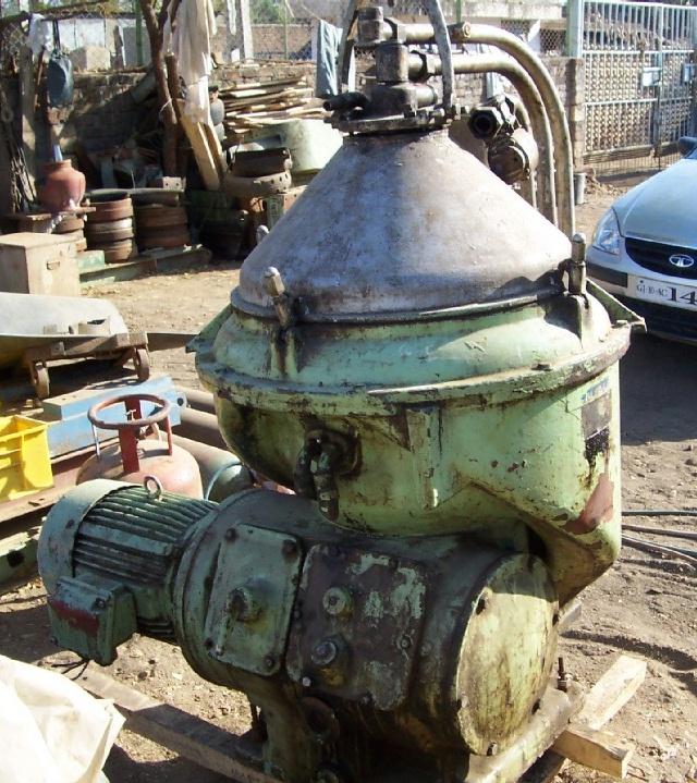 (4) Alfa-Laval FOPX 610 TGD-24G-60 oil purifiers, 316SS.