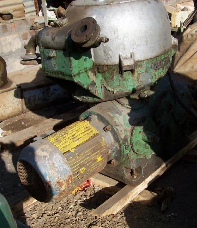 (5) Westfalia OSA 20-02-066 lube oil purifiers, SS.