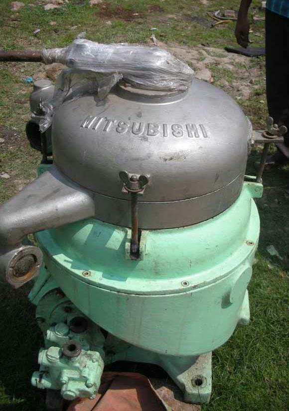 (2) Mitsubishi SJ-2000 self-cleaning oil purifiers, SS.
