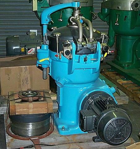 (4) Alfa-Laval MAB 207S-29-60 biodiesel purifiers, SS bowl.