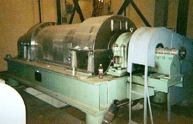 (3) IHI HS-805L solid bowl decanter centrifuges, SS.