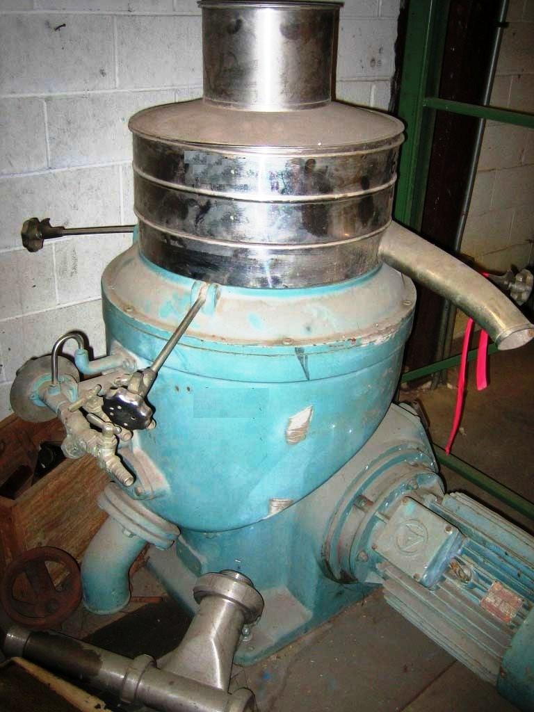 Alfa-Laval CRPX 207-AGT-14-60 citrus oil purifier, 316SS.
