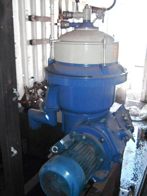 Alfa-Laval MOPX 207 SGT-24 oil purifier, SS.