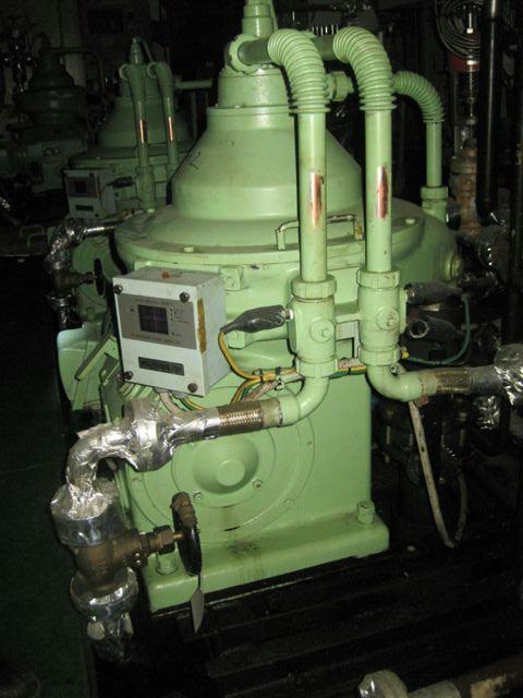 (3) Mitsubishi SJ-30G self-cleaning oil purifiers, SS bowl.