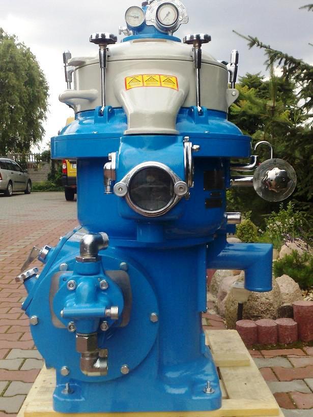 Alfa-Laval MOPX 207 SGT-24-60 oil purifier, SS.
