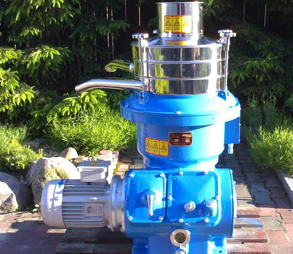 Alfa-Laval UVPX 207-74A concentrator, 316SS.