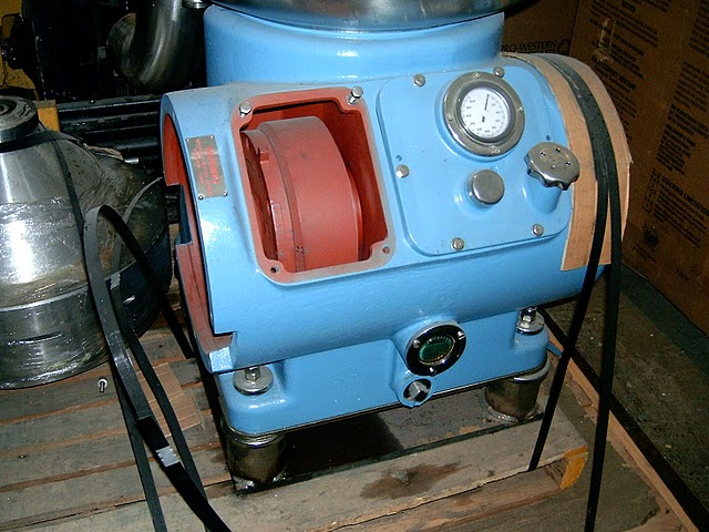 Alfa-Laval GRPX 213H-75T-21 concentrator, 316SS.