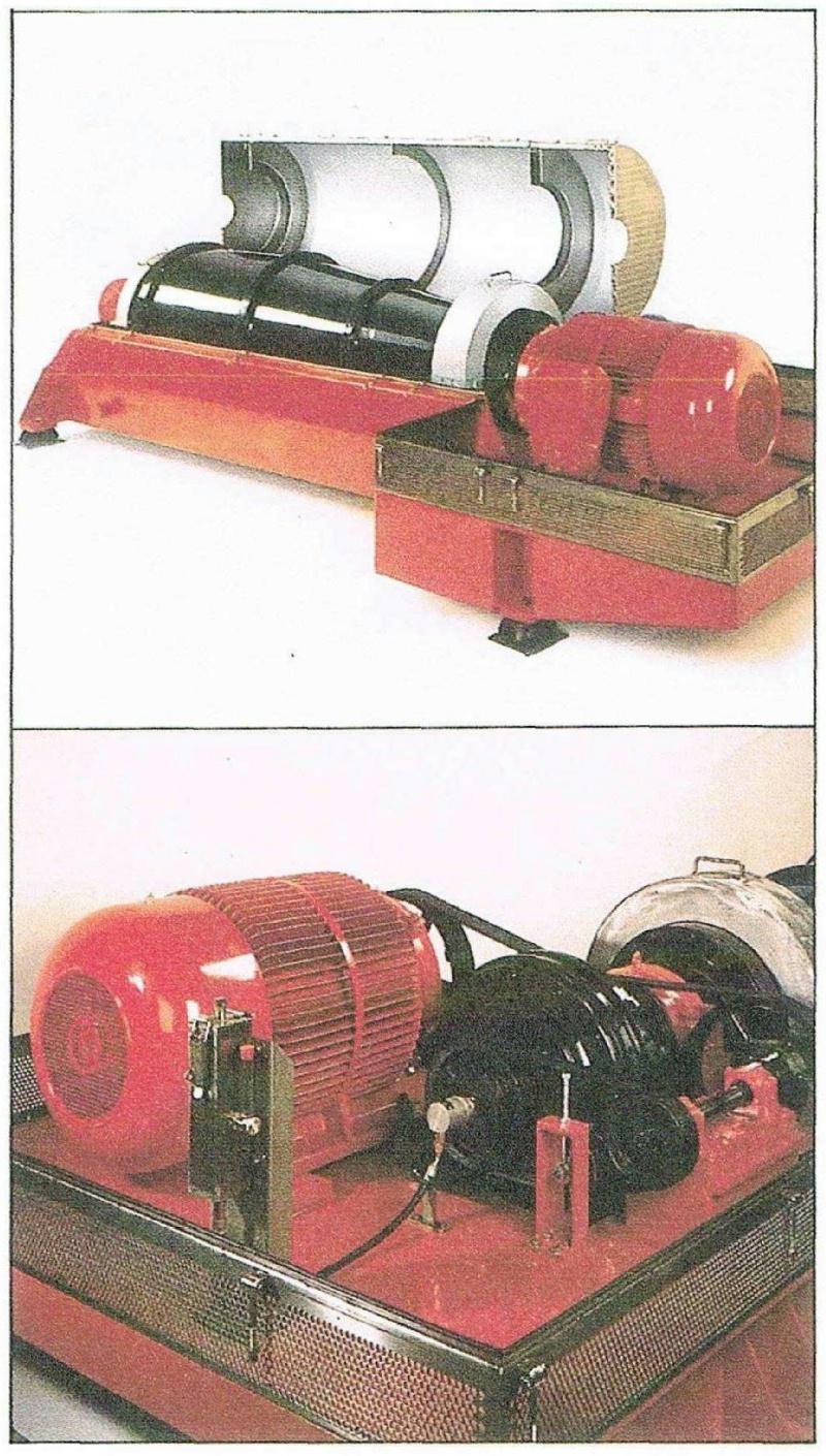 (2) Kruger 800 LY decanter centrifuges, CS.