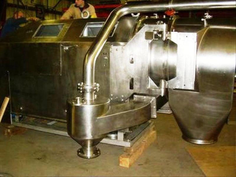 (2) Heinkel HF 800 Inverting Filter centrifuges, Hastelloy.