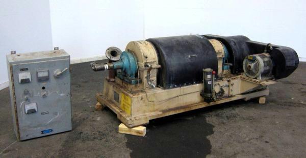 (3) Dorr-Oliver 16L decanter centrifuges, 316SS.