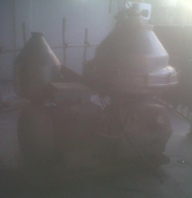 Alfa-Laval BRPX 317 SGV-35CEFR clarifier, 316SS.