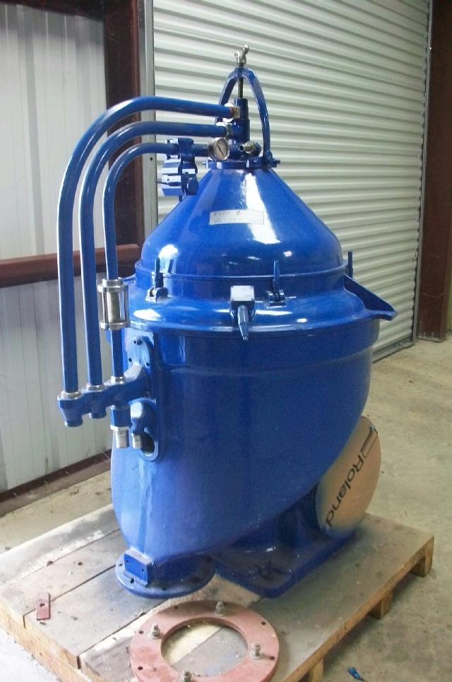 (4) Alfa-Laval FOPX 613 TGD-24-60 oil purifiers, SS.