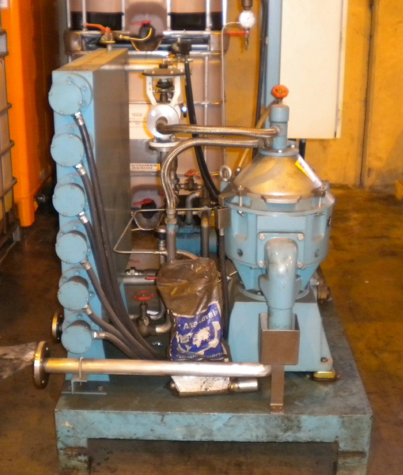 Alfa-Laval MMB 304S-11 lube oil purifier, SS.