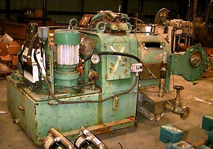 Alfa-Laval SB-400 2 stage pusher centrifuge, 316SS.