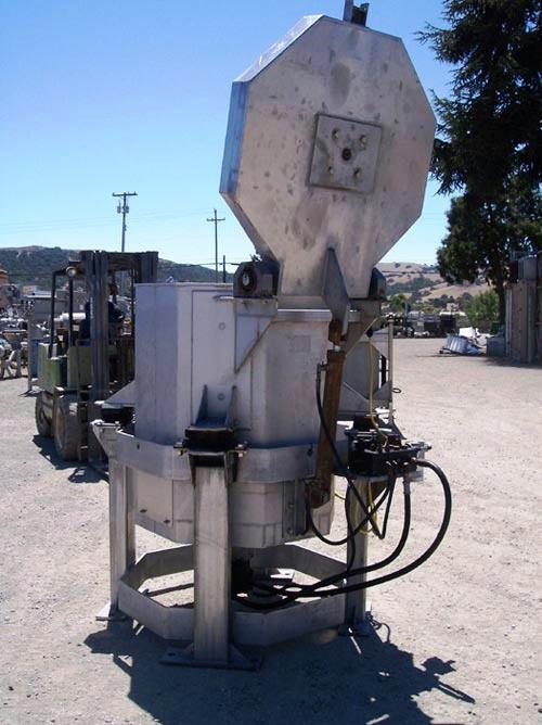 (4) Heinzen SD-300E 30 x 36 lettuce spin dryers, SS.