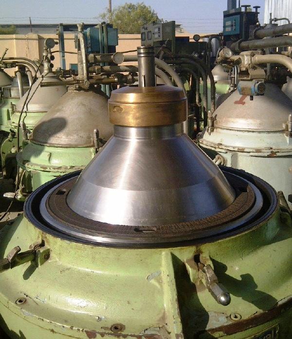 Alfa-Laval FOPX 613 TFD-24-60 oil purifier, SS.