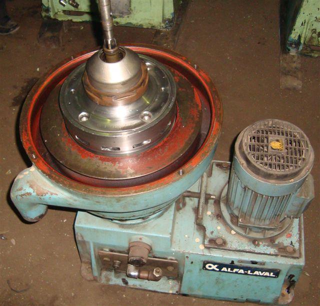 Alfa-Laval MMPX 303 SGP-11-60 oil purifier, 316SS.