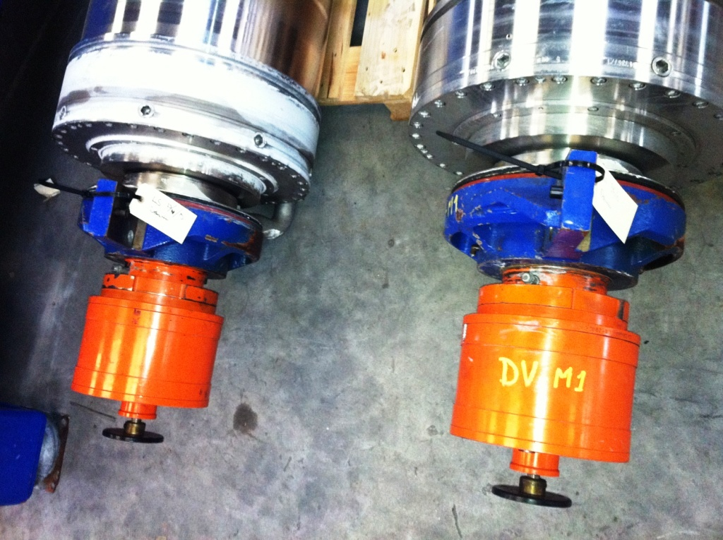 (2) Alfa-Laval NX 438S-31G sanitary decanters, 316SS.