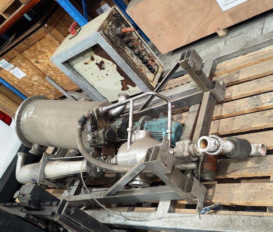Alfa-Laval BRPX 617 SFV-34C clarifier centrifuge, 316SS.