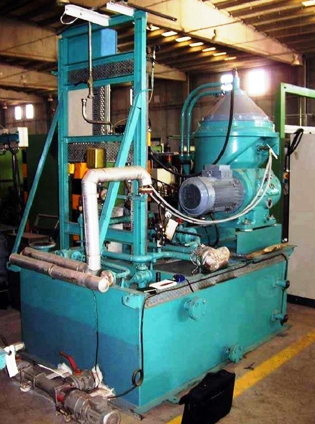 Alfa-Laval LOPX 709 SFD-34 lube oil purifier, SS.