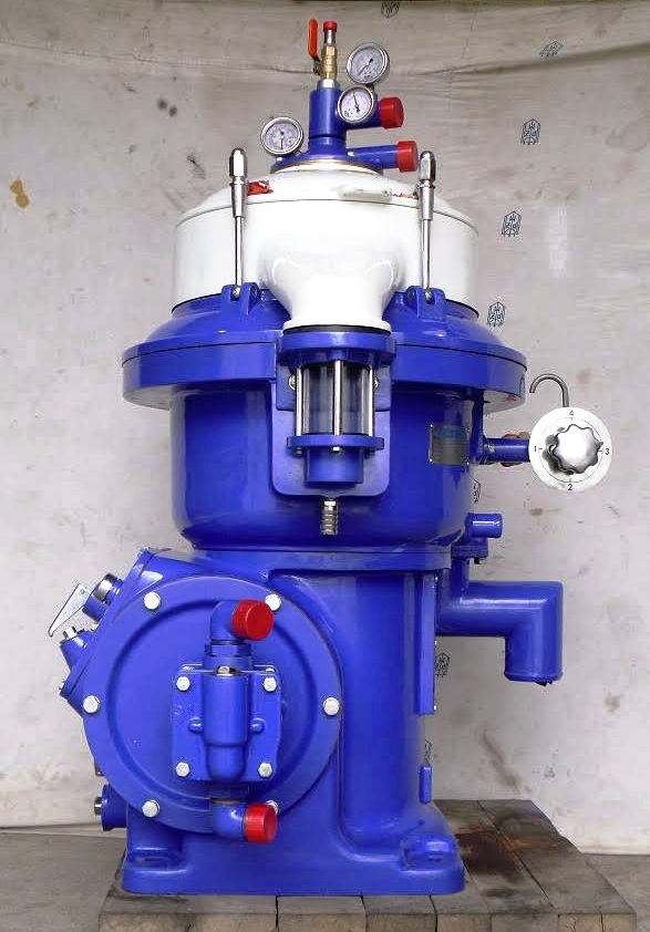 Alfa-Laval MAPX 207 SGT-24-60 oil purifier skid, SS.