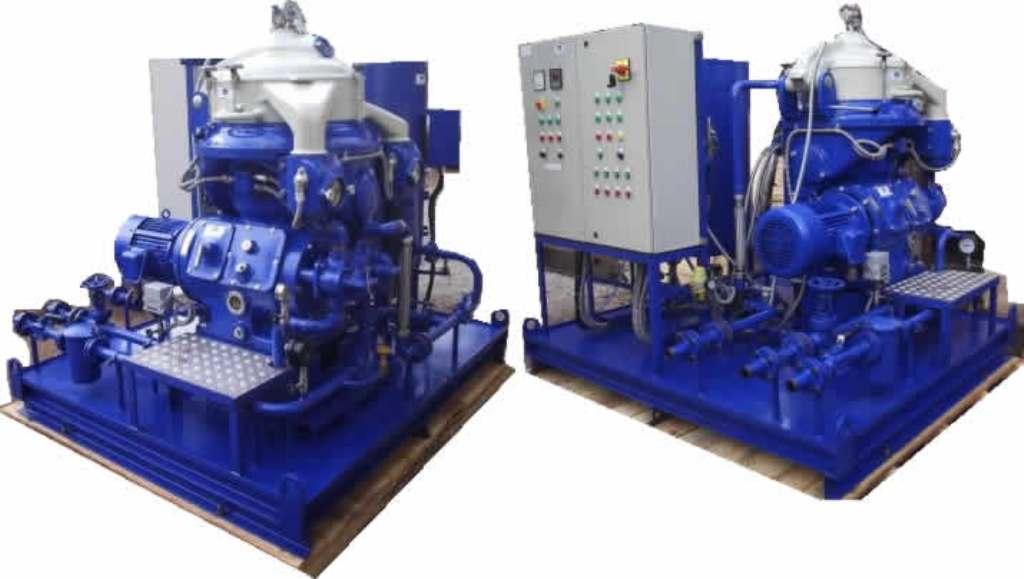 Alfa-Laval MAPX 309 BGT-14-60 oil purifiers, SS.