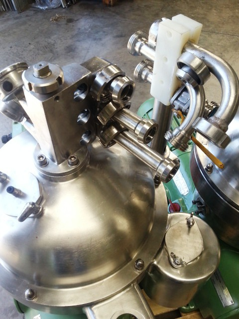 (2) Westfalia SA 7-01-576 separators, 316SS.