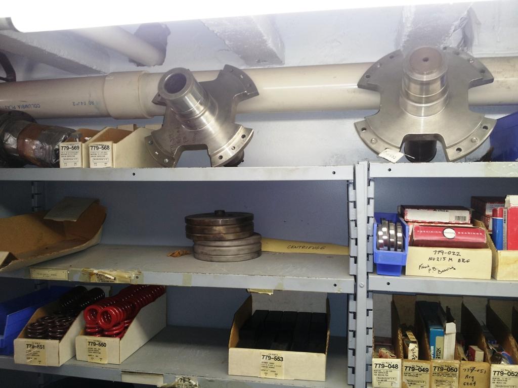 (2) Sharples P3400 decanter centrifuges, 316SS.