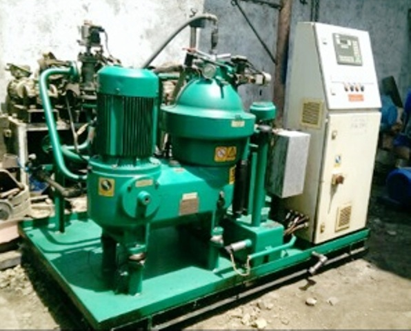 (2) Westfalia OSD 18-0196-067/10 oil purifier skids, SS.