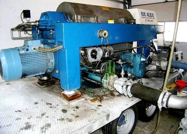 Alfa-Laval AVNX 919/4045B-31G decanter centrifuge, 316SS.