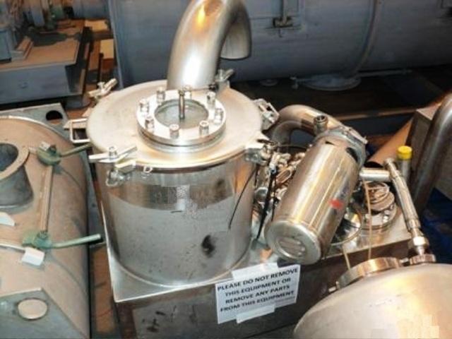 (2) Westfalia SA 20-06-076 sanitary clarifiers, 316 SS.