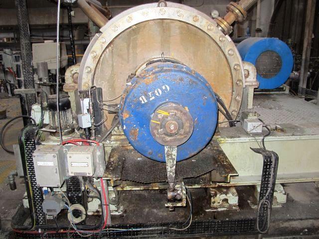 (5) Broadbent 40 x 60 pressure-tight decanters, 316SS.