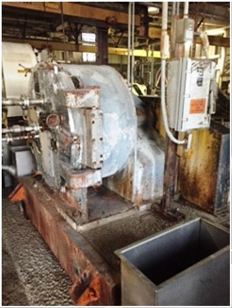 (5) Krauss-Maffei HZ 80 VK peeler centrifuges, 316SS.